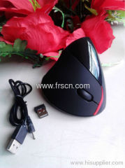 2.4g wireless vertical computer optical mouse