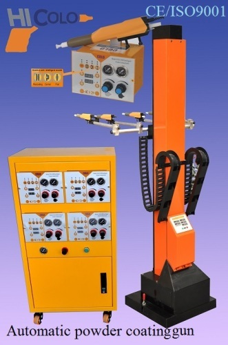 Electrostatic Automatic powder coating gun system