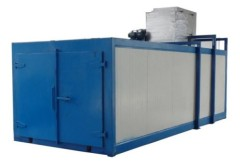 Powder Curing Ovens Tunnel Type