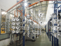 Custom Design Powder Paint Coating Line For Hardware Products
