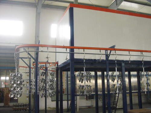 OEM Electrostatic Powder Painting Coating Line System