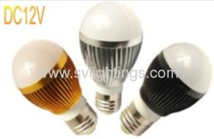 12v 3w 5w e27 for solar lighting systems