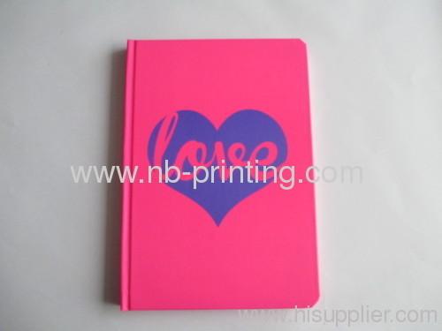 cream inner sheet hardcover notebook