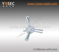 Tri-spoke Safe lock handle of Gun safe accessories