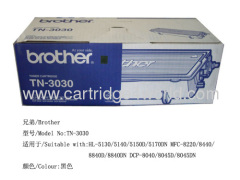 High page yield High quality Brother TN-3030 Toner Cartridge Factory Direct Sale