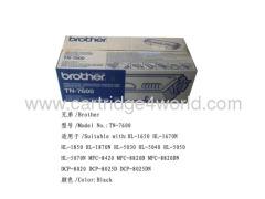Factory Direct Sale Brother TN-7600 Toner Cartridge