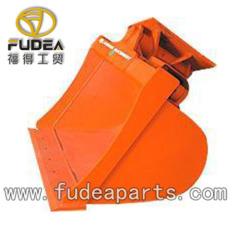 Excavator hydraulic tilting bucket
