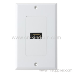 Audio/Video Wall Plate