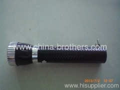 Black version led torch for bangladesh and india market
