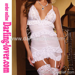 Sexy White Lace New Babydoll