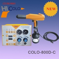 electrostatic powder coating gun for home and small applications