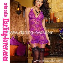 Sexy Purple New Mini Dress