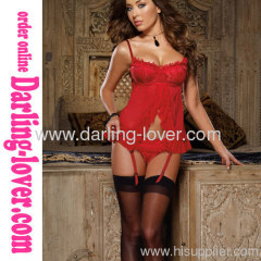 Red Sexy New Exclusive Babydoll