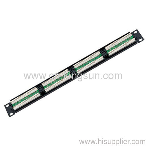 24 Port Cat.5e Patch Panel