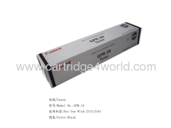 Canon GPR-34 Genuine Original Laser Toner Cartridge High Page Yield High Quality Factory Direct Sale