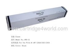 Canon NPG-52BK Genuine Original Laser Toner Cartridge Recycled