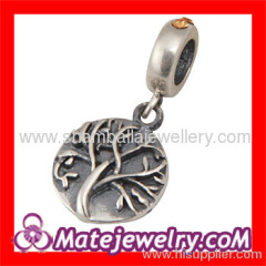 silver european Charm And Pendant
