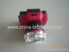 Led headlamp for middle-east market 3 battery operted