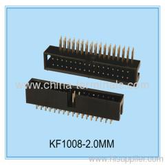 2 mm pitch caja encabezado fabricante en china