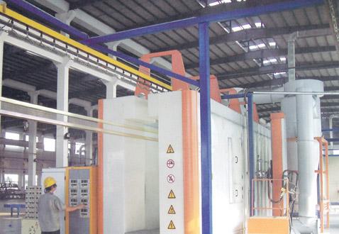 powder coating line for sale