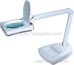 Large Table Clamp Magnifier Lamp
