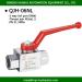 high pressure domestic standard 2 way ball valve globe valve china manufacturers made in china