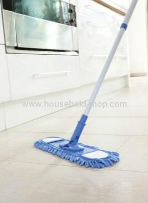 Large panel clean microfiber flat mop