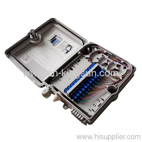 12 cores fiber FTTH box