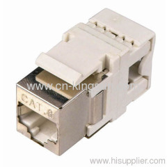 Cat.6 shielded Keystone Jack