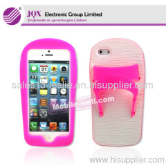 TPU protector case with matting for iPhone 5