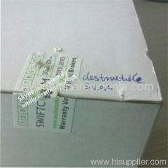Boxes Packaging Tamper Proof Security Seal Stickers