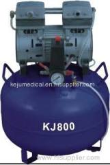 CE approved 800W 1 for 2 dental air compressor