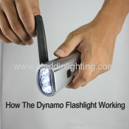 How the Dynamo flashlight working
