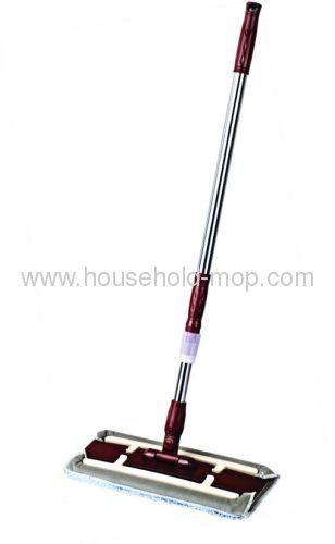 Flat Bobble Microfibre Mop And Handle