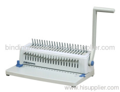 Full Disengagement Punch Pins Plastic Comb Binding Machine