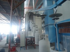 Conveyorised Automatic LPG tank powder coating line