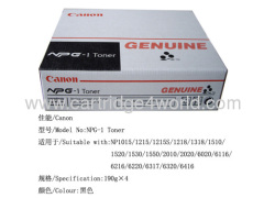 efficient and durable Toner Cartridge Toner Cartridge of Canon NPG-1