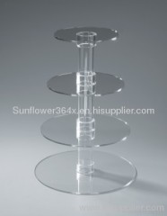 4-Tier Acrylic Cake Stand
