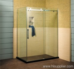 shower enclosures with High quality plastic paint silver handle