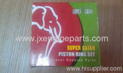 Diesel engine R175A.S1110 PISTON RING SET