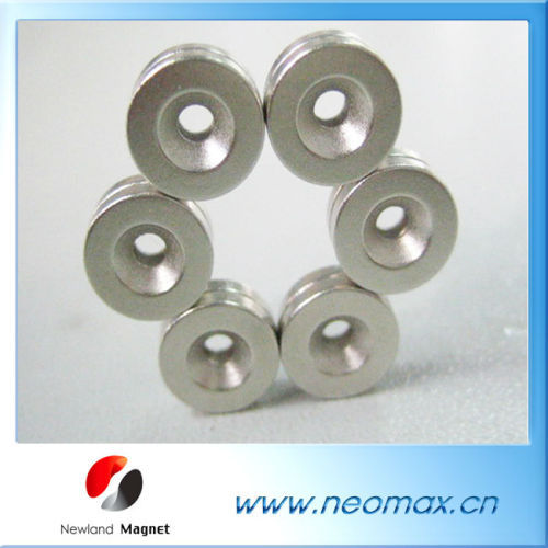 Permanent Magnet with M4 Countersunk Hole