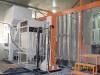 metal door powder coating unit