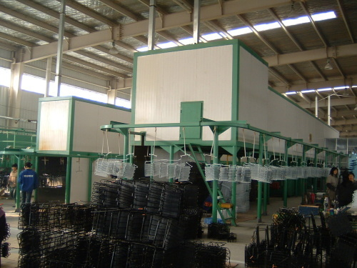 Industrial Condenser Electrophoresis Powder Coating Line Project