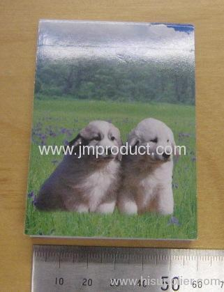 dogs cover design notebook