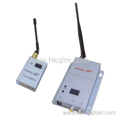 av wireless transmitter system
