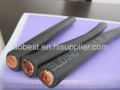 rubber sheath super flexible welding cable