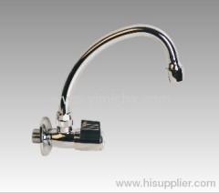140mmx G1/2x dia.16mm Kitchen Wall Mounted Ceramic Sheet Faucet