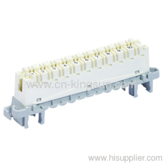 10 Pair Krone profile disconnection MODULE