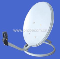 0.35m Ku band receive only antenna