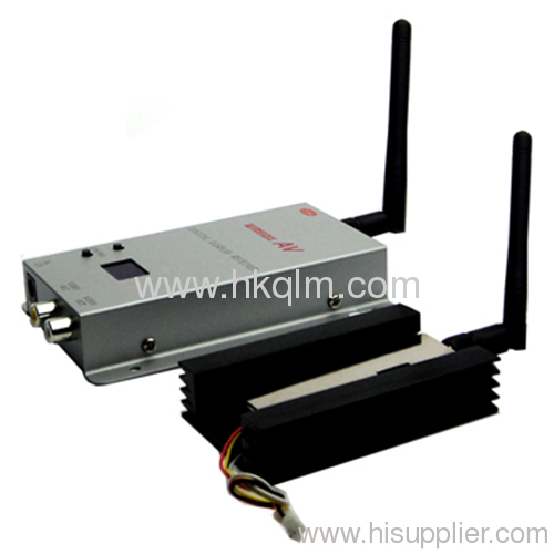 wireless video camera transmitter and receiver